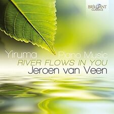 JEROEN VAN VEEN - PIANO MUSIC-RIVER FLOWS IN YOU 2 CD NEW+ YIRUMA