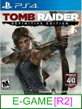 PS4 Tomb Raider Definitive Edition [R2] ★Brand New & Sealed★