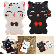 Coque Etui Housse Silicone Gel Chat Korea 3D Cartoon Case Pr iPhone 6 6s + 7 7+