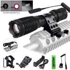 Zoom IR illuminator 940nm Infrared Night Vision Light Coyote Hunt Lamp Gun Mount