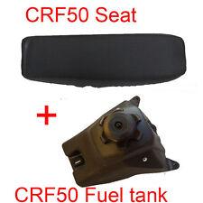 Gas Fuel Tank Cap Seat For Honda XR50 CRF50 50 70 90 110CC Dirt Pit Bike SDG SSR