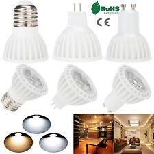 15W COB Dimmable LED Spotlight Bulbs E26 E27 GU10 MR16 220V 110V Cool Warm White