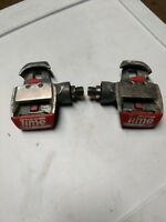 Retro/Vintage Time Criterium Clipless 9/16 Pedals ~ Bike Bicycle Pedal.Free Ship