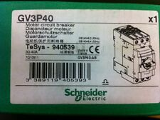 New Schneider Electric Motor Circuit Breaker GV3P40, TeSys 940539- GV3P40-AB