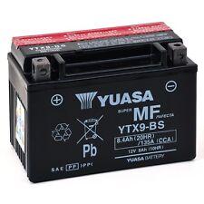 Batterie Moto KAWASAKI  900 ZX-9R (ZX900E, F) NinjaYuasa YTX9-BS  12v 8Ah