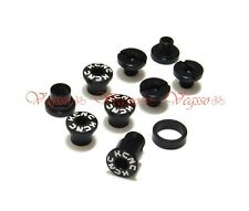 NEW KCNC CRANK CHAINRING BOLTS SCREWS FOR CAMPY CAMPAGNOLO AL7075, BLACK