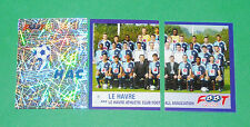 PANINI FOOTBALL FOOT 2006 LE HAVRE AC HAC DESCHASEAUX COMPLET FRANCE 2005-2006