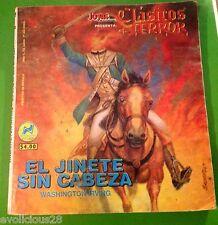 MEXICAN COMIC CLASICOS DE TERROR HEADLESS HORSEMAN WASHINGTON IRVING
