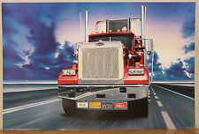 (PRL) 1990 NEVADA AUTOCAR TRUCK MOTRICE CAMION VINTAGE AFFICHE ART PRINT POSTER