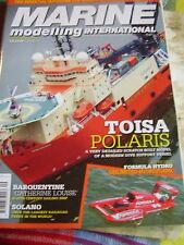 MARINE MODELLING SEPTEMBER 2008 TOISA POLARIS FORMULA HYDRPLANE SOLANO FERRY