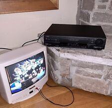 New listing Jvc Ultra Spec Drive Av CompuLink Vcr Plus+ Recorder Vhs Video Player Hr-Vp81U