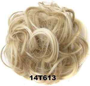 Scrunchie Haargummi Zopf Haarteil Haarverdichtung Haarband Zopfgummi 45 FARBEN!