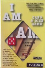 I AM CARD AND DICE GAME NEW/SEALED BOX FUN AND EDUCATIONAL IN T.V AND FILM