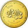 [#734851] Slovenia, Fantasy euro patterns, 20 Euro Cent, 2003, MS(65-70), Brass