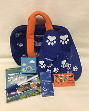 Aeroflot Russian Airlines SkyTeam 4+ Children's Amenity Kit Bag With slippers