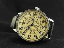 Aviator watch, Vintage watch, Military watch, Soviet watch,  Mens Watch Pobeda