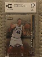 1998 TOPPS FINEST DIRK NOWITZKI #234 ROOKIE CARD RC BCCG 10 GEM Or Better
