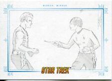 Star Trek Portfolio Prints Sketch Card  Mirror, Mirror, by Justin Chung