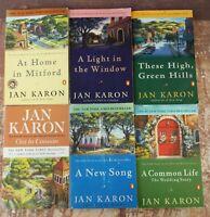 Mitford Years Series 1-6 6 Book Lot Set by Jan Karon Paperback