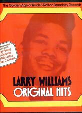 LARRY WILLIAMS original hits UK 1972 EX LP