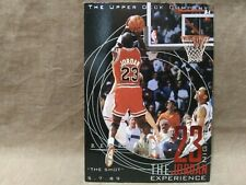 Michael Jordan 1998 Upper Deck # 43 ' the shot' Gold Hologram.VGC