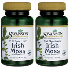 Swanson Full Spectrum Irish Moss 400 mg 60 Caps 2 Pack