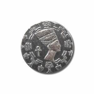10 - 1/10 oz. 999 Fine Silver Rounds -  Egyptian Queen Nefertiti- BU - IN STOCK