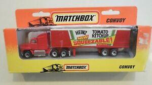 MATCHBOX - CONVOY - HEINZ TRUCK - 1993 - IN ORIGINAL BOX