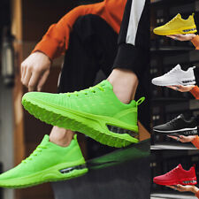 Air Cushion Sneakers Mens Athletic Running Shoes Sports Walking Tennis Shoes
