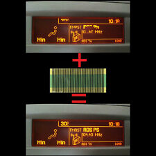 Para Peugeot 307 407 408 Multi Info Diplay Indicador Pixel Reparación Lámina 05
