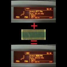 Für Peugeot 307 | 407 | 408 | Multi Info Diplay Anzeige Pixel Reparatur Folie 05