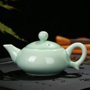Longquan Celadon Ceramic Teapot Cups Kung Fu Teaset Teapot Gaiwan Tureen Tea Cup