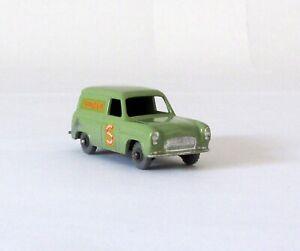 Vintage Lesney Moko Matchbox #59-A Ford Thames Singer Van Gray Wheels XLNT 1958