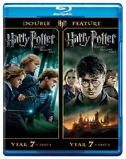 #5 HARRY POTTER DEATHLY HALLOWS Parts I & II Brand New Blu-Ray Set FREE SHIPPING