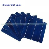 "ECO 6""x6"" Solar Cells Kit 156x156 4.3W/Pc for DIY 100W 200W 400W 1KW Solar Panel"