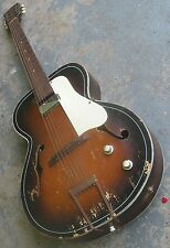 1950s B&J Serenader Electric Archtop Guitar. Made by Kay. Repair Project.