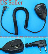 Speaker-Microphone for BAOFENG UV-5R & UV-3R+ Handheld Dual-Band Two-Way Radio