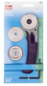Prym  Rollschneider Multi mit 3 Wechselklingen 45 mm 611368