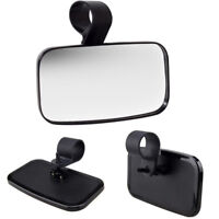 "8"" UTV Quad Golf Cart Club Car Center Wide Angle Rear View Mirror w/ Mount Set"