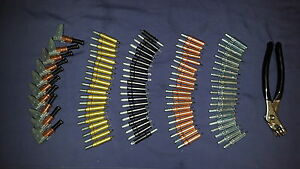 Temporary Fasteners Kit (CLECO/SKIN PINS)80 Assorted Clecos,Plier & Edge Grips