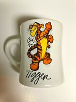 Disney Store TIGGER Full Of Enthusiasm Tall Oversize White Coffee Mug Hot Cocoa