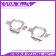 2X H7 Bombilla HID Xenon titular Clip Adaptador Para BMW Audi Benz retén de base esperar UK