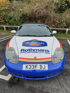 Porsche BOXSTER S 3.2 - MOT NOV 21 -  2000/W 986 - ROTHMANS TRIBUTE WRAP