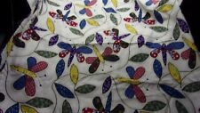 """New listing 1 Yd. 10"""" Of 44"""" Wide Chasing Butterflies Cotton Fabric"""