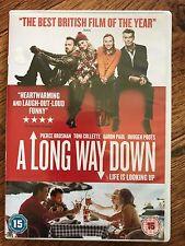 Pierce Brosnan Aaron Paul A LONG WAY DOWN ~ 2014 Nick Hornby Comedy | UK DVD