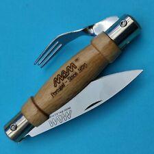 MAM Mini Couteau Fourchette traditionnel Portugal Bois Peche Nature CAMPING