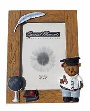 Polystone Bear Photo Frame Tabletop Special Moments Graduation 4x6