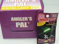 Angler's PAL Long Last Dry Type Clip On Rod Top Glow Stick size 3L 50 pcs BOX