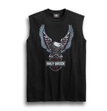 Harley-Davidson Men's Upright Eagle Sleeveless Tee - 99267-19VM