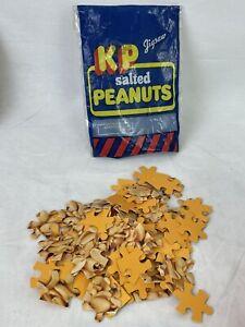 Jigsaw Puzzle KP Salted Peanuts Vintage 100 Piece Food Collectible Advert N146